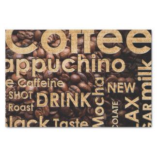 Beautiful Coffee Espresso Design Tissue Paper