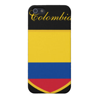 Beautiful Colombia Flag Cover For iPhone 5/5S