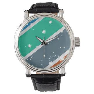 Beautiful color hand clock wristwatch