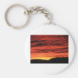 Beautiful Colorado Sunrise Keychains