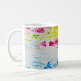 Beautiful Colorful Abstract Art Design Coffee Mug