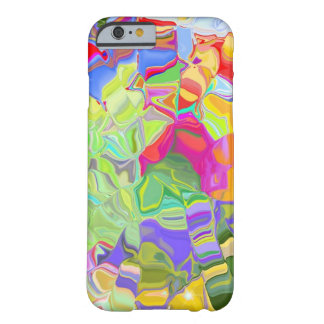 Beautiful Colorful Abstract Art Ice Cubes Gifts Barely There iPhone 6 Case