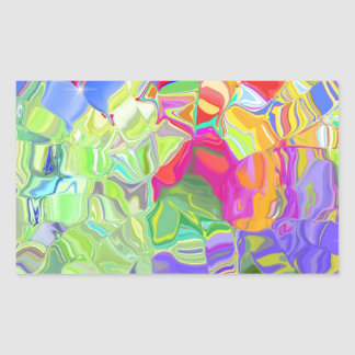 Beautiful Colorful Abstract Art Ice Cubes Gifts