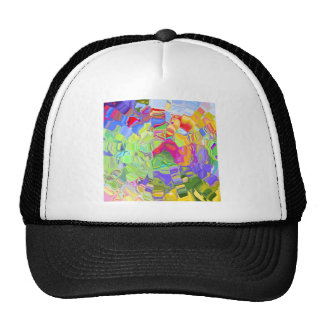 Beautiful Colorful Abstract Art Ice Cubes Gifts Trucker Hat