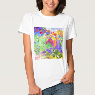 Beautiful Colorful Abstract Art Ice Cubes Gifts Tshirts