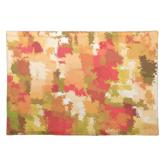 Beautiful Colorful Abstract Pattern Placemat