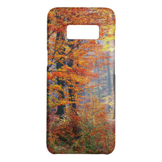 Beautiful colorful autumn forest sunbeams Case-Mate samsung galaxy s8 case