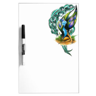 Beautiful Colorful Celtic Forest Faery Dry Erase Whiteboards