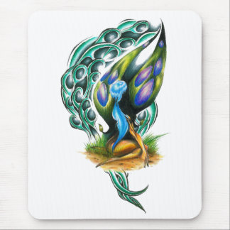 Beautiful Colorful Celtic Forest Faery Mouse Pad