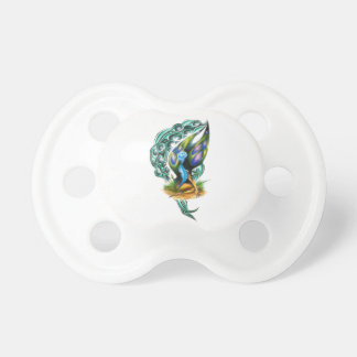 Beautiful Colorful Celtic Forest Faery Pacifier