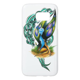 Beautiful Colorful Celtic Forest Faery Samsung Galaxy S7 Case