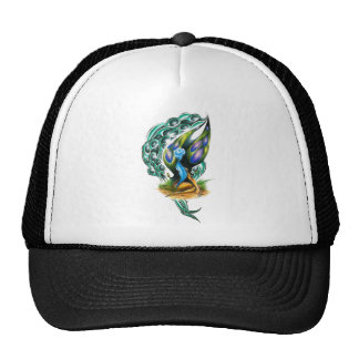 Beautiful Colorful Celtic Forest Faery Trucker Hat