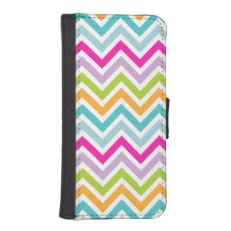 Beautiful Colorful Chevron iPhone 5/5s Wallet Case iPhone 5 Wallet
