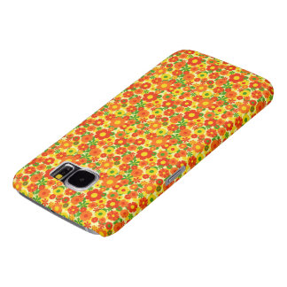 beautiful colorful flowers vector art samsung galaxy s6 cases