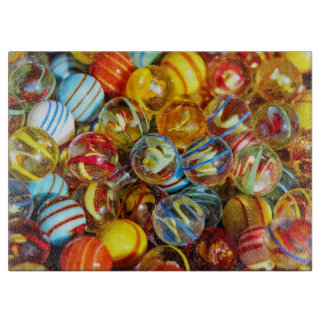 beautiful colorful glass marble balls photograph boards