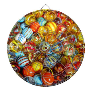 beautiful colorful glass marble balls photograph dartboard