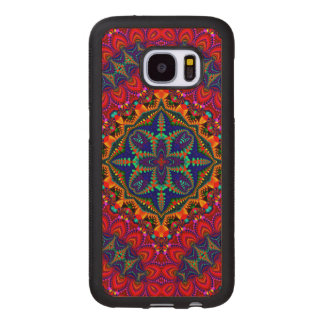 Beautiful colorful Kaleidoscope Wood Samsung Galaxy S7 Case