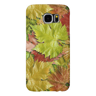 beautiful colorful leaves vector art samsung galaxy s6 cases