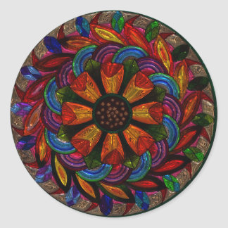 Beautiful Colorful Mandala Sticker