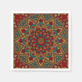 Beautiful Colorful Pattern Napkin Paper Napkin