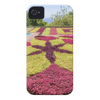 Beautiful colorful patterns and shapes in garden iPhone 4 case