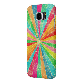 beautiful colorful ranbow vector art samsung galaxy s6 cases