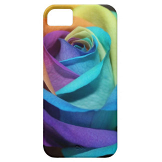 Beautiful colorful rose iPhone 5 covers