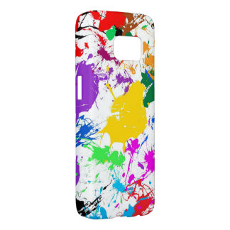 beautiful colorful spots samsung galaxy s7 case