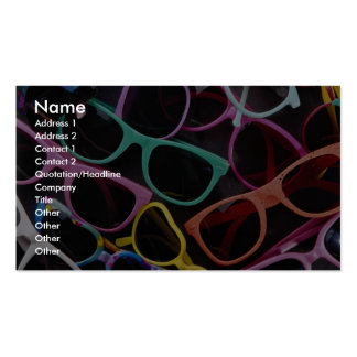 Beautiful Colorful sunglasses Business Card