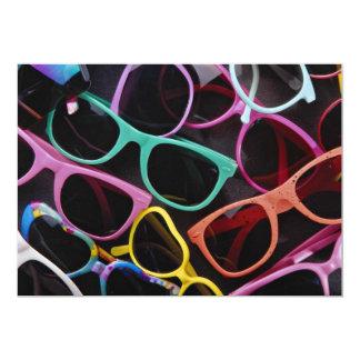 Beautiful Colorful sunglasses Invites
