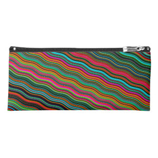 Beautiful Colorful Wavy Stripe Pattern Pencil Case