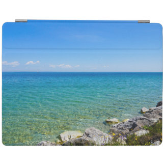 Beautiful Colors Of Lake Huron iPad Cover