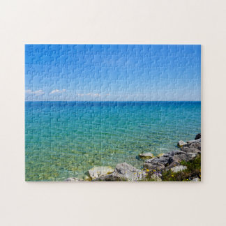 Beautiful Colors Of Lake Huron Jigsaw Puzzle