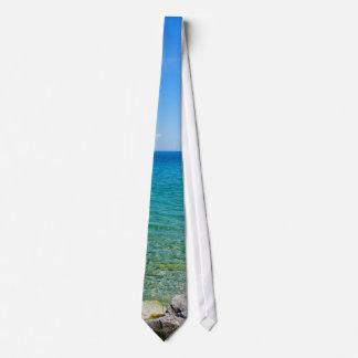 Beautiful Colors Of Lake Huron Tie