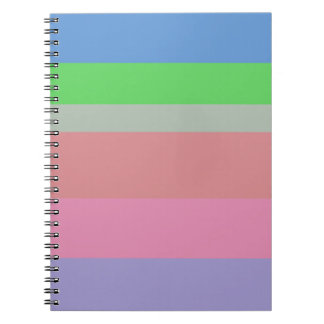 beautiful colors soft lovely style new fashion notebooks