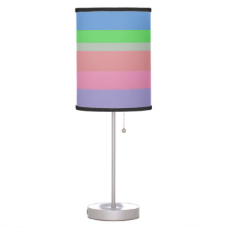 beautiful colors soft lovely style new fashion table lamp