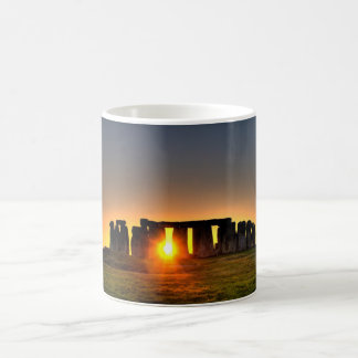 Beautiful colour image of Stonehenge. Classic White Coffee Mug
