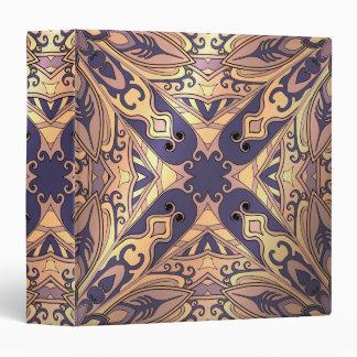 Beautiful complicated  moroccan ornament vinyl binder