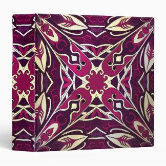 Beautiful complicated purple moroccan ornament. 3 ring binders