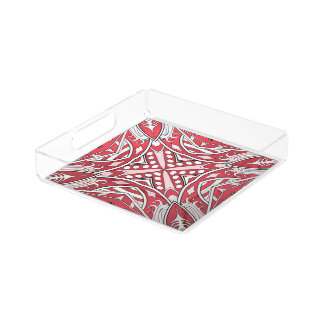 Beautiful complicated redl moroccan ornament. serving tray