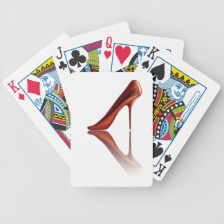 Beautiful COOL high-heels Bicycle Playing Cards