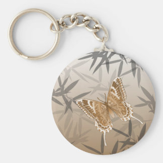 Beautiful Copper Butterfly Design Keychain
