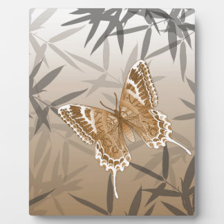 Beautiful Copper Butterfly Design Plaque