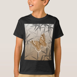 Beautiful Copper Butterfly Design T-Shirt