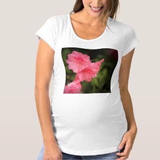 Beautiful Coral Azalea Maternity T-Shirt