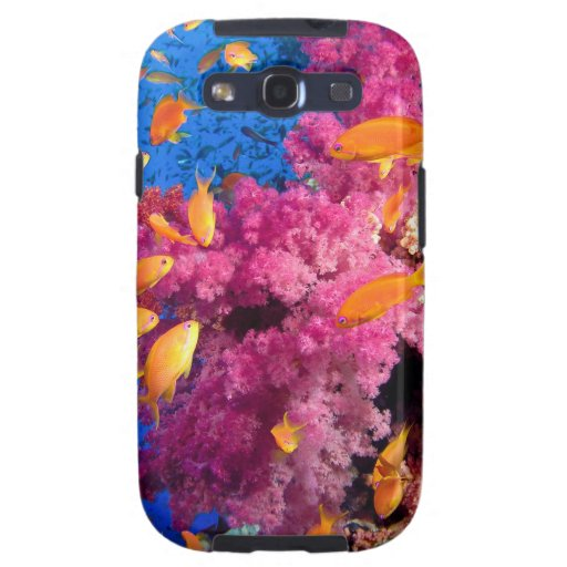 Beautiful Coral Reef Naturescape Samsung Galaxy S3 Cases