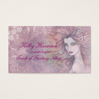 Beautiful Cosmetologist or Makeup Artist Card