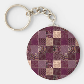 Beautiful Country Patchwork Quilt Key Chains