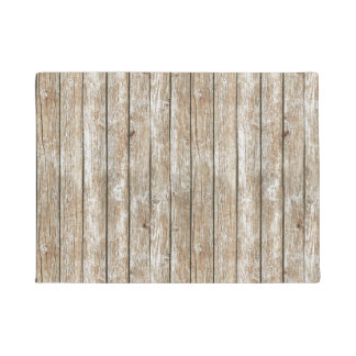 Beautiful Country Shabby Chic Rustic Wood Doormat