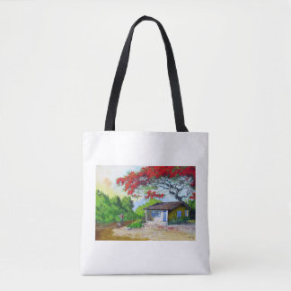 beautiful country village  All-Over-Print Tote Bag